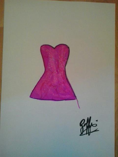 Dessin robe
