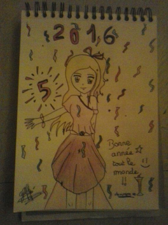 Dessin bonne année