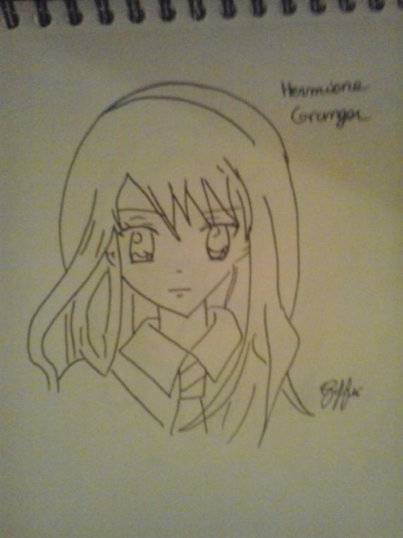 Dessin : Hermione Granger