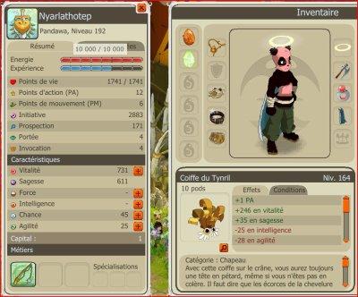 Stuff du panda => FINI