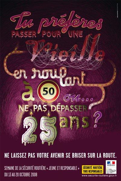 Que prefere tu rouler moins vite et arriver ke de rouler vite en ne respectant pas et mourir !!!!!!!!!