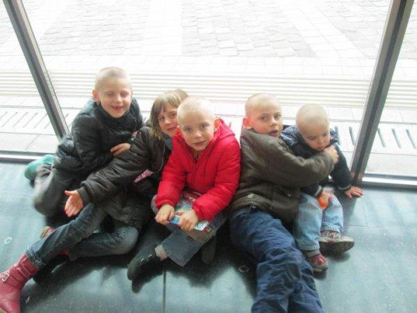 mes cinqs enfants
