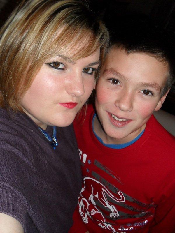 Moi et mon petit cousin Dylan