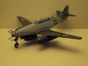 Me 262 B-1a/U1 : le Schwalbe chasse la nuit