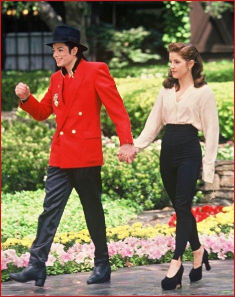 Le premier mariage de Michael Jackson