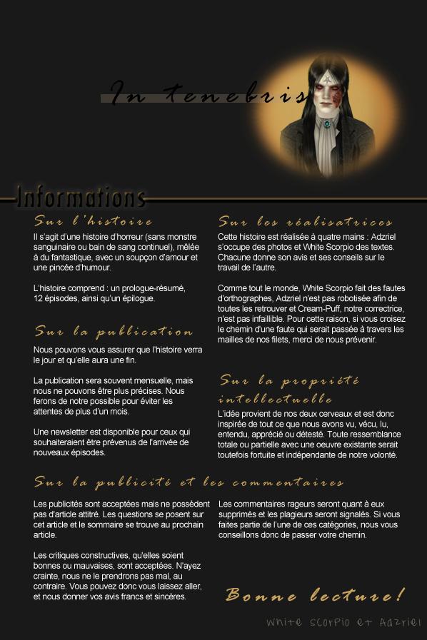 In-Tenebris Informations Adzriel & White Scorpio
