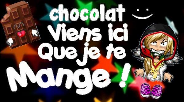 Du Chocolat :O