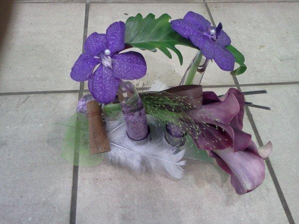 La Vanda une fleurs magnifique