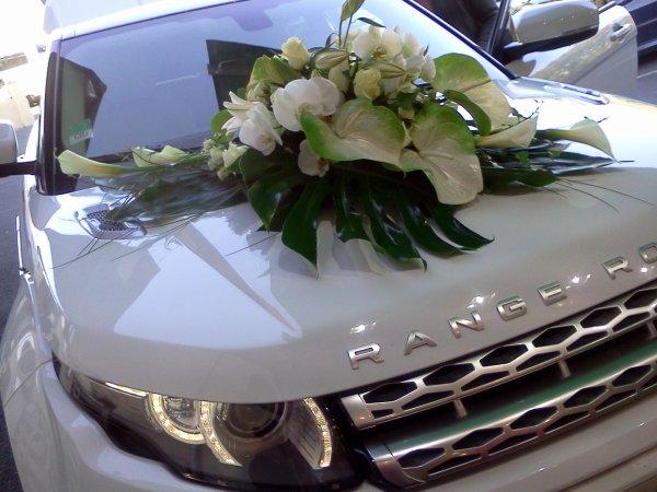 Range Rover : Mariage