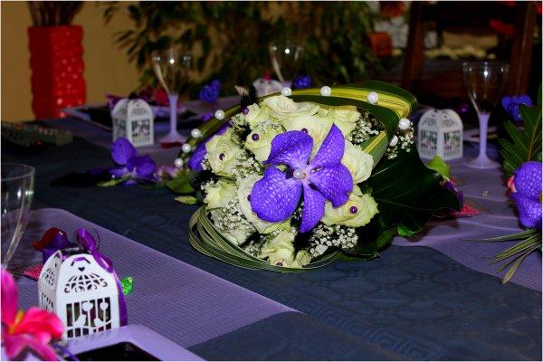 Mariage 22 mars 2014 : Bouquet de la mariée