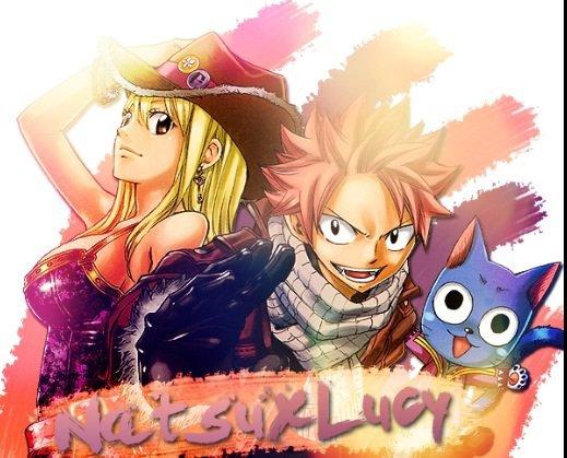Natsu et Lucy ^^