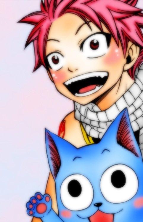 Natsu et Happy !