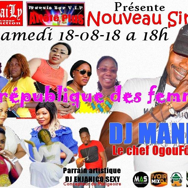 Présentation du nouveau single La république des femmes Mix