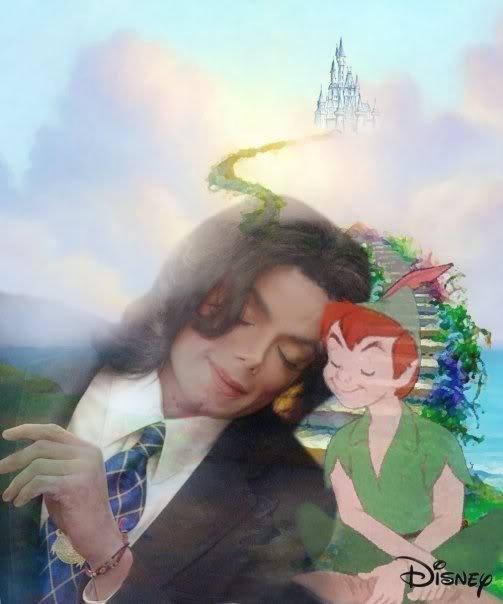 Michael Jackson et Peter pan