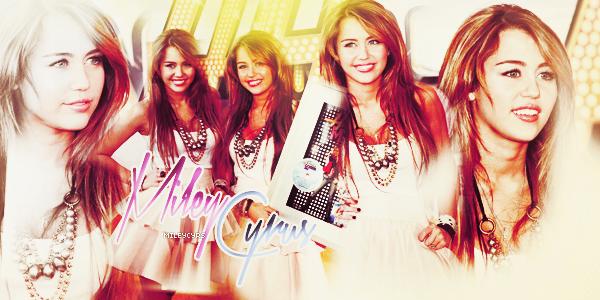 - ● ● 'Bienvenue sur MileyCyrs, ta source d'actualité sur la magnifique Miley Cyrus. Suivez l'ensemble de l'actualité de la célèbre chanteuse Miley Cyrus avec des candids, shoots, évènements et vidéos.. .