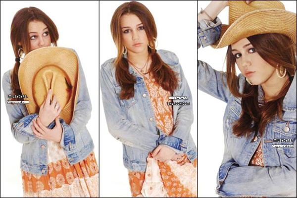 -  Découvrez un nouveau photoshoot de Miley photographié par Keith Munyan -