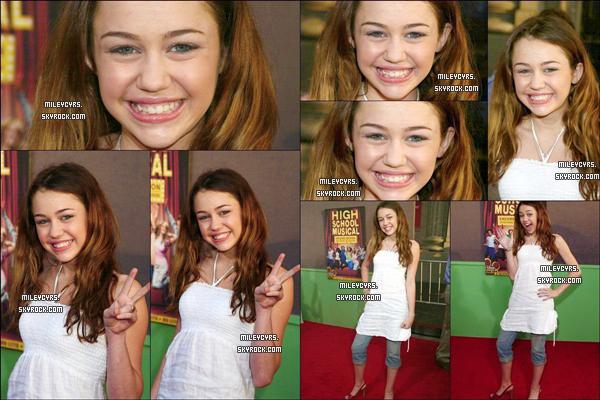 - 13/03/2006 : Miley était présente à l'avant première du film « High School Musical » qui se situait au USA. -