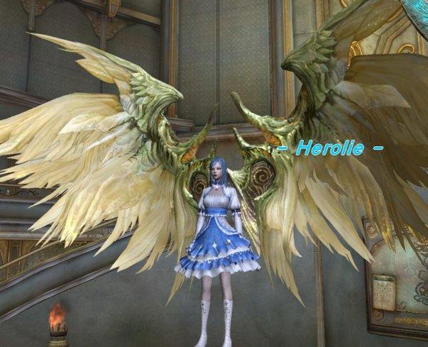 Des ailes dorée...?