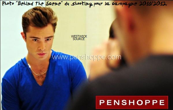 CANDIDS Le 31 mai, Ed est arrivé à Manille, aux Philippines pour réaliser un shooting de la campagne 2011/2012 de la marque Penshoppe, dont il est la nouvelle égérie.