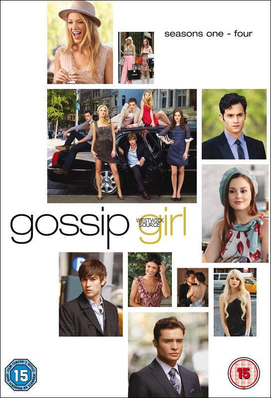 GOSSIP GIRL Découvrez à quoi ressemble le coffret dvd des saisons 1 à 4 de Gossip Girl. Vos avis ?