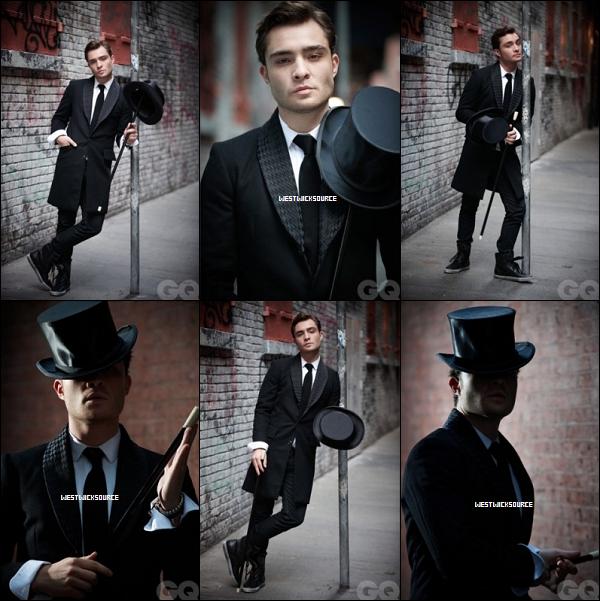 DIVERS Voici deux photoshoots d'Ed pour le magazine GQ (2008/2009). Lequel préférez-vous ?