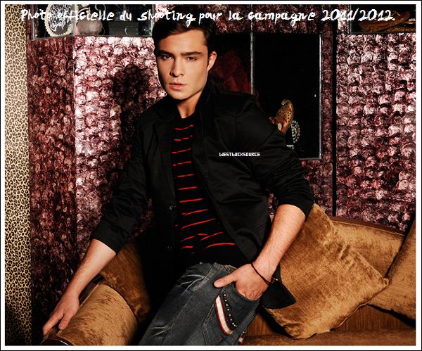 PENSHOPPE Découvrez trois nouvelles photos officielles d'Ed pour la campagne de 2011/2012.