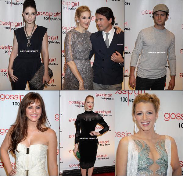 APPARITION Le 19 Novembre, à New York, était organisé une soirée spéciale pour Gossip Girl puisqu'il s'agissait de fêter le 100ème épisode de la série. Ed, ainsi que tous les acteurs de GG, était au rendez-vous.