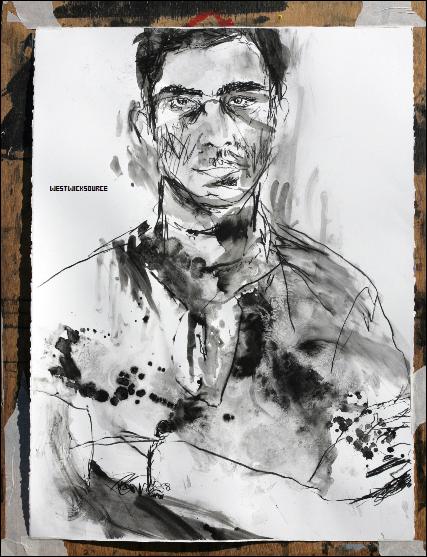 DIVERS Voici un portrait d'Ed réalisé par son meilleur ami, l'artiste Todd DiCiurcio.