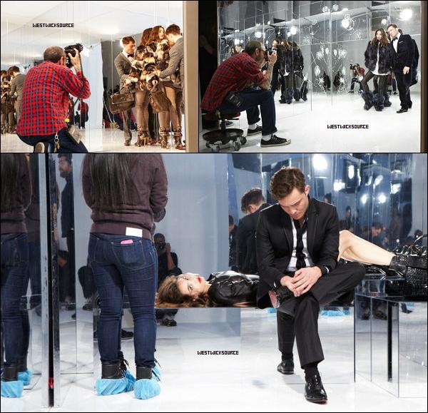 PHOTOSHOOT Voici les premières photos pour la campagne d'automne-hiver 2012-2013 de Philipp Plein.