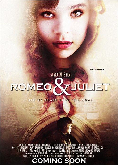 ROMEO&JULIETTE Voici le premier poster officiel de Roméo&Juliette et la première date de sa sortie.