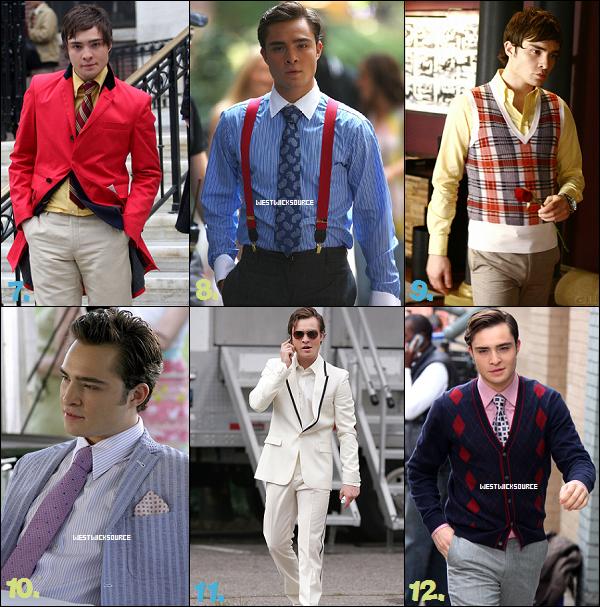 """DIVERS Parmi toutes ces tenues """"Chuck Bassiennes"""", lesquelles aimes-tu, lesquelles détestes-tu?"""