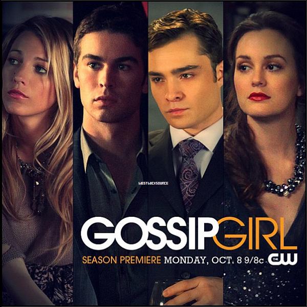 GOSSIP GIRL Découvrez deux posters promotionnels pour la dernière saison de Gossip Girl.