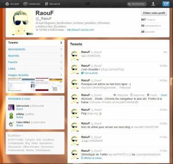 Le nouveau Twitter est arrivé  #onsenvole #Twitter #NouveauTwitter