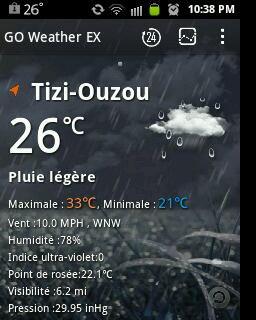 Enfin de ....la pluie :-)