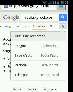 Google actu !