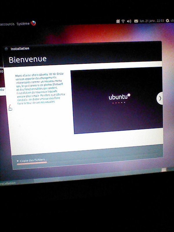 Re Ubuntu !