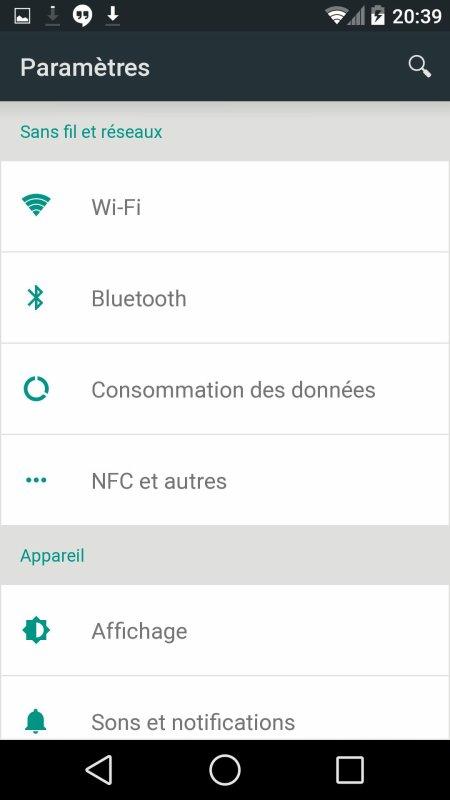 """Android L ( v"""" dev )"""