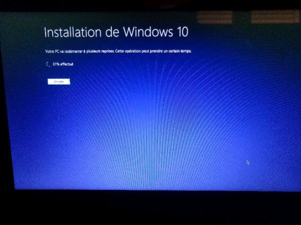 Je suis enfin passé a Windows 10 ^^