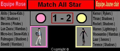 Saison 2 pisode 5 le match all star galactik football - Equipe galactik football ...