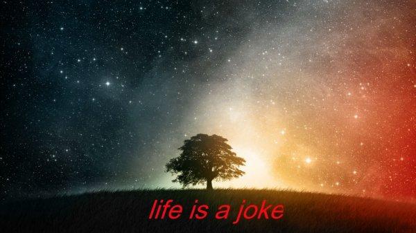 Life is a joke