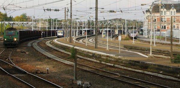 La gare de Valenciennes sous toutes ses couleurs