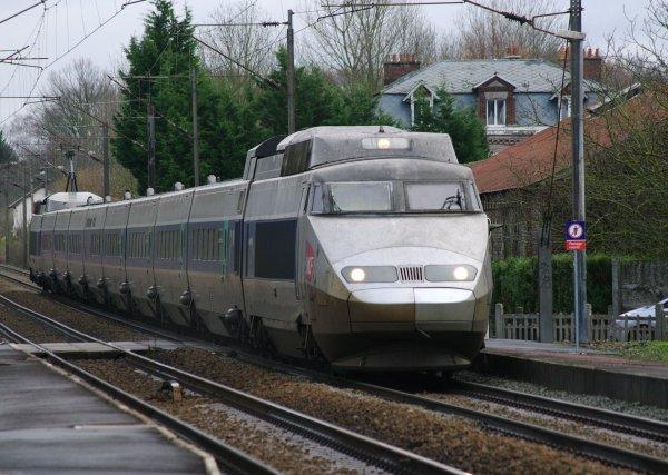 Le TGV 72 pour Paris Nord
