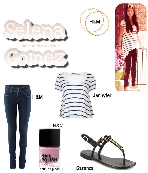 Style : Le style de Selena Gomez à une sortie.
