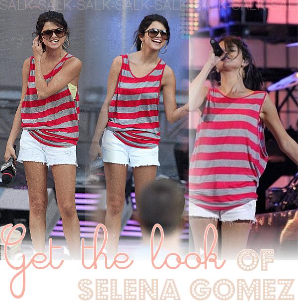 Get the look of Selena Gomez