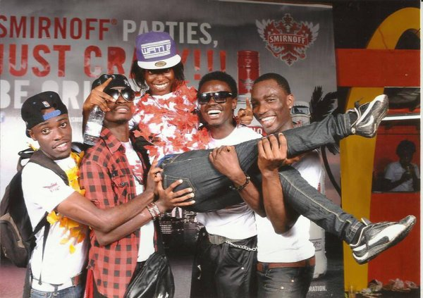Le Fresh Family en concert pour Smirnoft