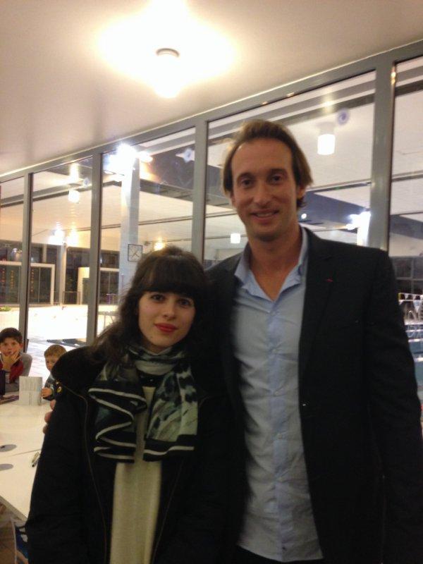 Petite photo avec Fabien Gilot