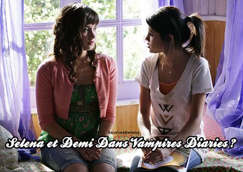 Selena et demi Dans The Vampires Diaries!