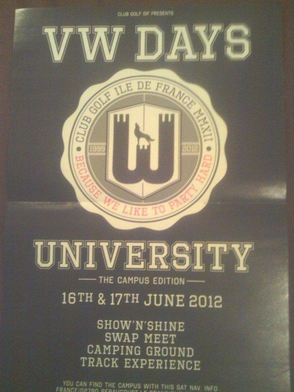 vw days 2012