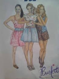 Le Dessin Des Meilleures Amies Blog De Shirin