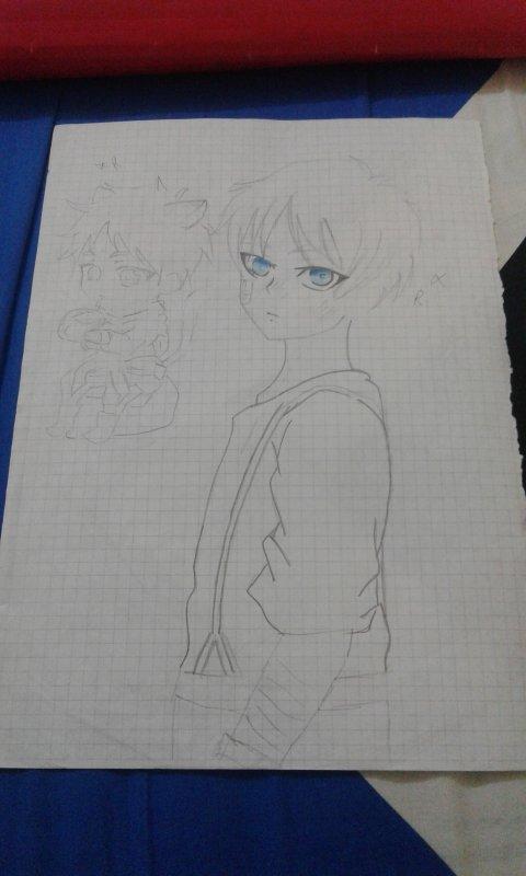 De merveilleuses images de manga créer par mon amie shaymae  chan desu *^*